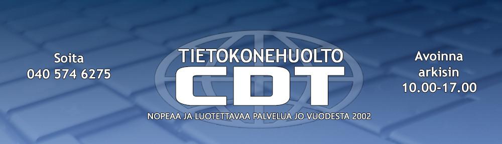 Tietokonehuolto CDT